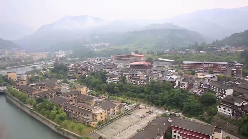 汶川水磨镇